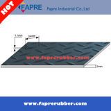 Natte en caoutchouc de plancher de configuration d'amorçage de diamant/natte en caoutchouc étage de diamant