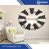 Espejo decorativo de doble capa de espuma