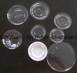 Tapa plástica automática Thermoforming de la taza que hace la máquina