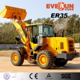3 Ton hidráulico de la construcción del cargador con EUROIII Motor / Electronic Gear