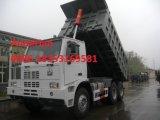 Sinotruk 70 tonnellate fuori dal disegno speciale dell'autocarro con cassone ribaltabile di estrazione mineraria della strada 371HP nello sbarco della miniera
