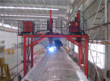 Tipo máquina do pórtico de Huafei de soldadura para o tanque irregular do cilindro