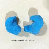 Fiches d'oreille moulées par coutume chaude de silicones d'allergie de vente librement pour la natation