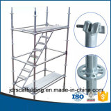 Impalcatura del sistema di Ringlock per costruzione