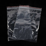 LDPE Transparency Plastic Zipper Lock Security Bag
