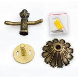 Las mercancías sanitarias del hardware de cobre amarillo del cuarto de baño escogen a Rose Hook