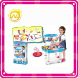 Пластиковые Набор барбекю Играть игрушек Cooking кухни Play Set