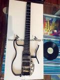 Guitarra elétrica decapitado original no corpo do CNC da liga de alumínio (AD100)