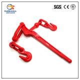 빨간 위조된 탄소 강철 L-150 표준 레버 유형 짐 바인더