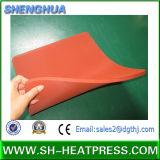 Almofada de borracha de silicone macia industrial de alta temperatura