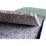 EPDM superficie de goma Azulejos, Azulejos seguridad del patio de goma, goma Kinder suelos baldosas