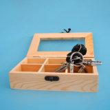 Contenitore impaccante personalizzato di tester dell'amperometro dipinto a mano dei ganci del doppio portello