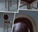 Tamborete de barra de jantar de madeira contínuo das cadeiras (M-X2048)