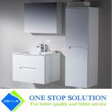 Introduzir a vaidade branca do banheiro do gabinete do revestimento da laca da cor do punho (ZY 3021)