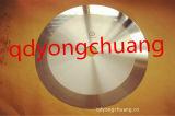 Lâmina circular desproporcionado para a fita adesiva da estaca