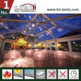 Wasserdichte quadratische Hochzeits-Großhandelszelte mit freien Belüftung-Seitenwänden