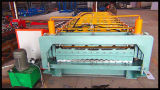Doppio rullo della lamina di metallo del tetto che forma macchina, Machineries del fornitore della Cina