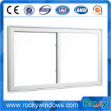 Petit Windows coulissant bon marché, PVC industriel Windows coulissant, glace de glissement de PVC Windows
