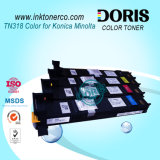 Toner della m/c di colore della cartuccia di toner Tn318 per Konica Minolta Bizhub C20