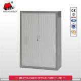 Compartiment blanc de mémoire en métal de couleur de hauteur de bureau d'utilisation de porte moyenne de PVC Tambour