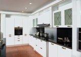 Cocina modular blanca del PVC de la alta calidad (zc-013)