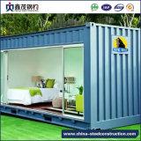 Het vlakke Huis van de Container van het Pak met Badkamers (het Huis van de Container)