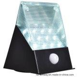 옥외 12LED 태양 에너지 운동 측정기 빛 벽