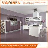 アメリカの小さい台所デザイン現代PVC食器棚