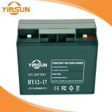 batería de plomo recargable de 12V 17ah con las terminales de cobre sólidas para el equipo de comunicación