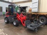 Mini máquina de madeira 800kg do equipamento agrícola que carrega o mini carregador para a venda