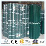 Acoplamiento de alambre soldado recubierto PVC de la alta calidad
