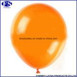 オレンジカラー2017卸し売り円形の気球、膨脹可能なヘリウムの気球