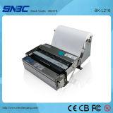 (BK-L216) USB serial A4 con el brazo auto auto del papel de impresora térmica del quiosco del cortador del cargamento de papel del presentador