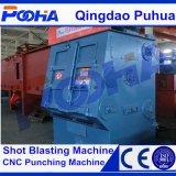 耐久力のある小さい金属部分のショットブラストのクリーニング機械