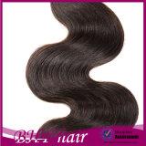 fermeture brésilienne de cheveu de Vierge du vison 8A 4 paquets d'onde brésilienne de corps avec la fermeture brésilienne de lacet de cheveux humains de fermeture avec l'armure