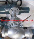 Geschmiedeter Stahl durch Methoden-Flansch-China-Kugel-Ventil (J41Y)