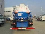 155kw 4X2 Dongfeng 유조 트럭 10000 리터 하수 오물 흡입