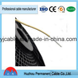 Fil électrique avec isolation en PVC, fil CCA, fil plat (BVR)