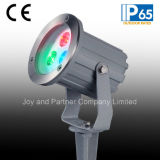 3W RGB LED Garden Light met Spike (JP83833)