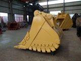 Peças excelentes do desgaste da máquina escavadora de China, cubeta da rocha da máquina escavadora