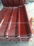 El material para techos acanalado del color de la fibra de vidrio del panel de FRP artesona W172111