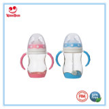 8 Ounce Colorful PPSU Milk Feeding Bottles for Babies