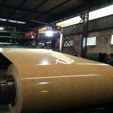 Chapa de aço Prepainted do teste padrão de madeira, PPGI de madeira