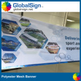 Wholesale Factory Meilleur prix Mesh Banners Polyester Backdrop Banners