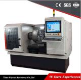 Máquina Wrm28h del CNC del torno del corte del diamante de la rueda de la aleación