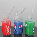 Quondam 14mm Vloeibare pijp van het Glas van de Waterpijp Dikke met MiniBoorplatforms van de Waterpijpen van Naill van het Glas van de Knoeiboel van de Neerstorting de Groene Rode Blauwe