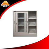 Les portes inférieures commodes et pratiques en métal 2 de Kd ont glacé le classeur de porte