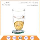 Tazza di tè libera di vetro doppia dell'OEM