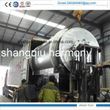 2ton Portable Plastic zu Diesel Refining Equipment