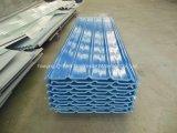 Толь цвета стеклоткани панели FRP Corrugated/стекла волокна обшивает панелями T172014